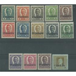 1918 FRIULI - VENETO OCCUPAZIONE AUSTRIACA POSTA DA CAMPO 14 V MLH MF27046