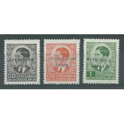 1941 MONTENEGRO OCCUP. ITALIANA SOPR. 17-IV 41 XIX 50 p. ARANCIO NON EMESSO MNH RAY BIONDI MF26979