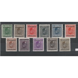 1933 JUGOSLAVIA  RE ALESSANDRO SOPRASTAMPATA  11 V MLH n. 239/50 MF53059