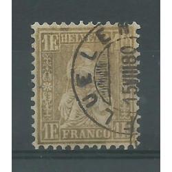 1862 SVIZZERA ALLEGORIA...