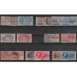 1927-28 REGNO POSTA PNEUMATICA 17 VAL USATI  MF53073