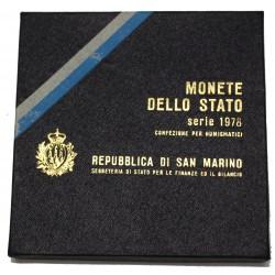 1978 SAN MARINO DIVISIONALE IL LAVORO 9 MONETE FDC MF24456