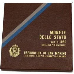 1980 SAN MARINO DIVISIONALE OLIMPIADI 9 MONETE FDC MF24458