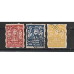 1905 VENEZUELA  PRESIDENTE CASTRO 3 VAL USATI MF53130