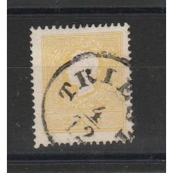 1859 AUSTRIA  EFFIGIE  UNIF 11 - UN VAL USATO  MF53243