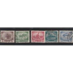 1915 AUSTRIA PRO ORFANI DI GUERRA UNIF 138/142 -  5 VAL USATI MF53241