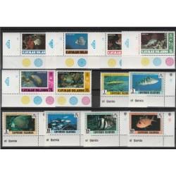 CAYMAN ISLANDS 1978 PESCI 12 VALORI - MNH MF53228