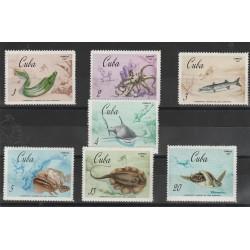 CUBA 1967  mondiali di pesca  7 V MNH  MF53264