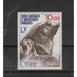 1977 TAAF TER ANTARTICO FRANCESE  OTARIE  1 VAL  MNH MF53277