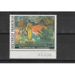 1979  POLINESIA FRANCESE GOUGUIN 1 VAL MNH MF53325