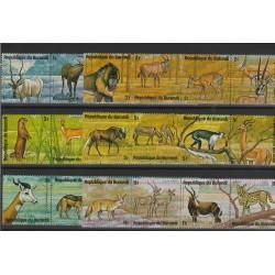 BURUNDI  1975 ANIMALI D'AFRICA  24  VAl   MF53292