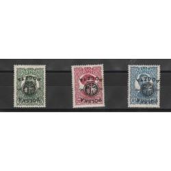 1918 POLONIA DEL DUD POLSKA POSTA DA CAMPO 3 VAL MLH  MF53377
