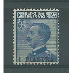 1908 LEVANTE COSTANTINOPOLI TIPO MICHETTI SOPRAST. MNH SASS N. 11 CAFFAZ MF27158