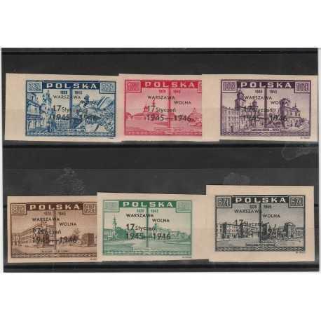 1946 POLONIA POLSKA  LIBERAZIONE  6 V MNH MF53366