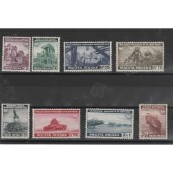 1941 POLONIA POLSKA GOVERNO IN ESILIO A LONDRA 8 V MNH MF53360