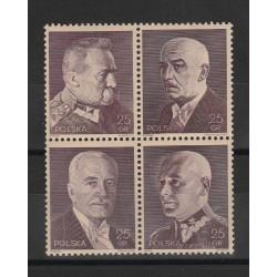 1939 POLONIA POLSKA  20° INDIPENDENZA  4 VAL  MNH MF 53348