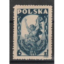1946 POLONIA POLSKA RIVOLTA DI GENNAIO  1V MNH MF53346