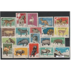 1964 CUBA ANIMALI ANIMALI ZOO AVANA  20 V MNH MF53511