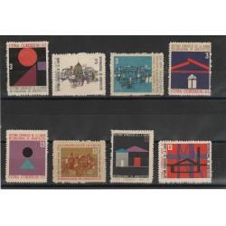 1963 CUBA CONGRESSO ARCHITETTI 8 VALORI MNH MF53507