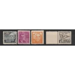 1953 CUBA PRO PENSIONATI PTT 4  VAL MNH  MF53508