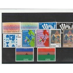 1973 IRLANDA ANNATA COMPLETA 11 VALORI NUOVI MNH MF53629