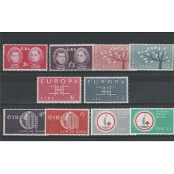 1962 63  IRLANDA ANNATE COMPLETE 10 VALORI NUOVI MNH MF53632
