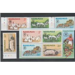 BAHAMAS 1981 GIORNATA ALIMENTAZIONE 4 VAL + BF  MNH  MF53646