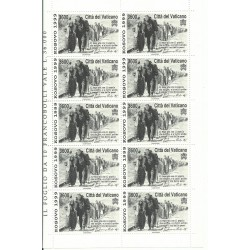 1999 VATICANO ( EUROPA 1999 ) 1 MINIFOGLIO NUOVO MNH MF27188