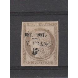 GUYANA FRANCESE GUYANE 1887 ALLEGORIA SOPRAST 1 MLH YV 8 MF53805