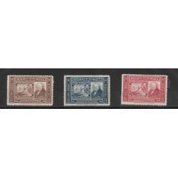 1941 NICARAGUA CENTENARIO FRANCOBOLLO  3 VAL MNH  MF53782