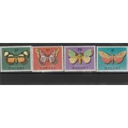 MALAWI 1974 fauna farfalle 4 V MNH MF53787