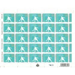 2008 SAN MARINO GIOCHI OLIMPICI DI PECHINO 2 MINIFOGLI NUOVI MNH MF24573