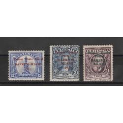 GUATEMALA 1931  VOLO BARRIOS - MIAMI 3 VAL  MLH  S.G. MF53857
