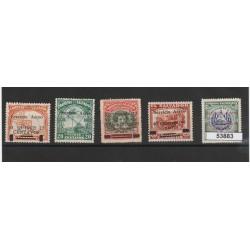 EL SALVADOR 1930  SERVICIO AEREO 5 VAL MISTI MF53883