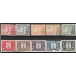 EL SALVADOR 1935 GIOCHI CENTROAMERICANI 10 VAL MLH MF53889