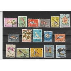 SINGAPORE 1962-68 SOGGETTI VARI 16 VAL  USATI MF 53984