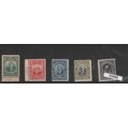 1911 CUBA UOMINI DI STATO 5 VAL  MLH  MF53498