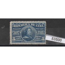 1914 CUBA  GERTRUDE GOMEZ  1 VAL  MLH  MF53500