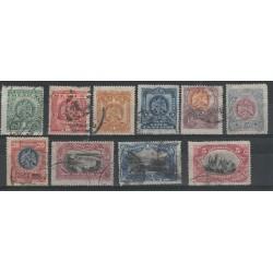 1899 MESSICO MEXICO SOGGETTI VARI  10 VAL USATI MF53975