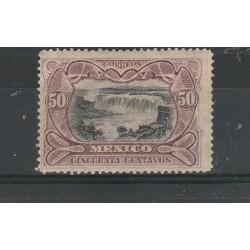 1899 MESSICO MEXICO  LILLA E NOIR YVERT N 187A   1 VAL MLH MF53979
