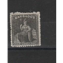 BARBADOS 1861  BRITANNIA 1 VAL MLH MF53983