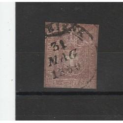 TOSCANA 1860 - 1 CENT VIOLETTO  BRUNO SASS N 17 USATO DIENA  MF54132