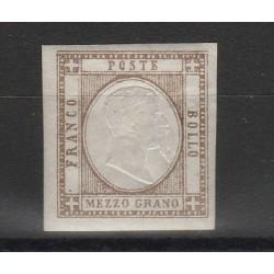 PROVINCIE NAPOLETANE 1861 - 1/2 GR  BRUNO  SASS 18 MLH MF54115