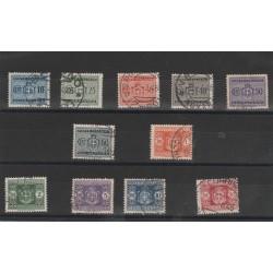 1945 LUOGOTENENZA SEGNATASSE RUOTA 11 V USATI  MF52753