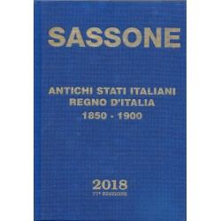 SASSONE 2018 CATALOGO  ANTICHI STATI ITALIANI - REGNO D'ITALIA NUOVO MF41572