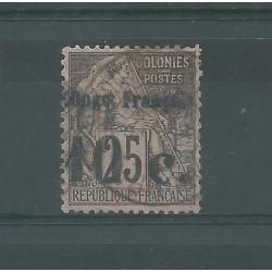 CONGO FRANCAIS 1891/92 ALLEGORIA DELLE COLONIE SOPRASTAMPATA USATO YV.N 5 MF27419