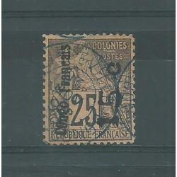 CONGO FRANCAIS 1891/92 ALLEGORIA DELLE COLONIE SOPRASTAMPATA USATO YV.N 7 MF27400
