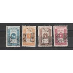 ARABIA SAUDITA 1925  SEGNATASSE  4 V  USATI MF54335