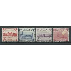 PAKISTAN 1955 ANNIVERSARIO INDIPENDENZA 4 VALORI MNH MF27439