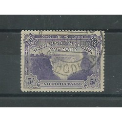 BRITISH SOUTH AFRICA COMPANY 1896 STANLEY GIBBONS N 53 MLH CAFFAZ MF24235